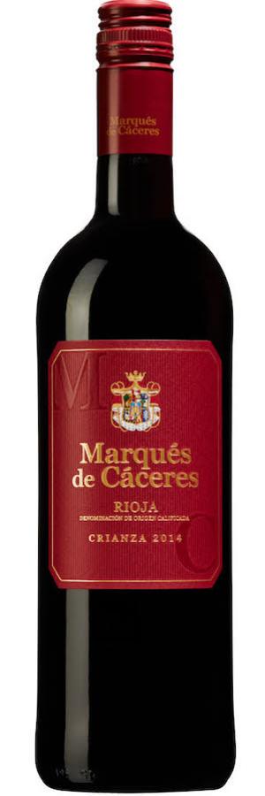 Rioja på topplistan: Marqués de Cáceres, årgång 2015!