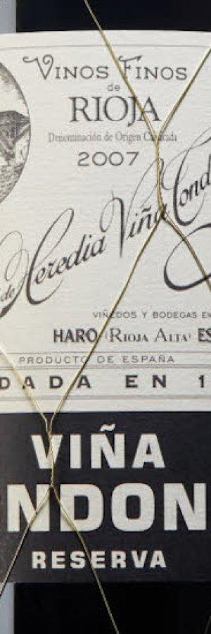 Hyllad Rioja i Tillfälligt sortiment: Viña Tondonia Reserva 2007