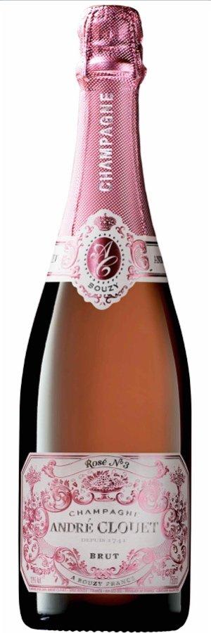 Rosé champagne: André Clouet Brut Rosé