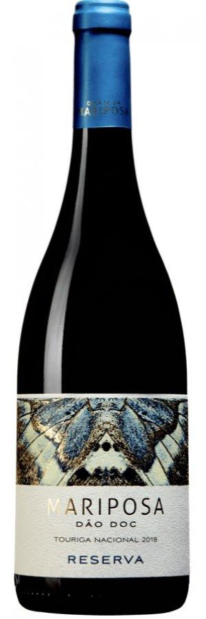 Rött vin från Portugal: Mariposa Reserva. På Systembolaget och Vinbetygets topplista
